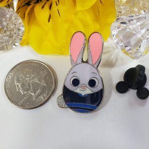 Disney Jewelry - 4/$25 Disney Judy Hoops from Zootopia Egg pin